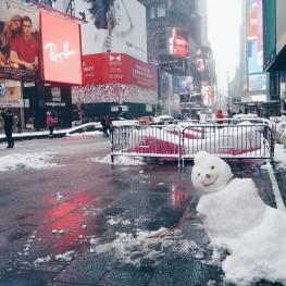 tempête neige new york