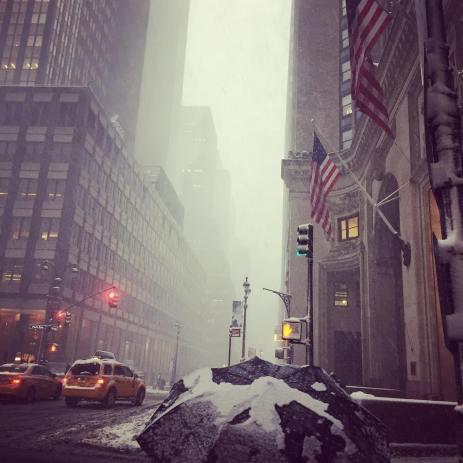 New York neige
