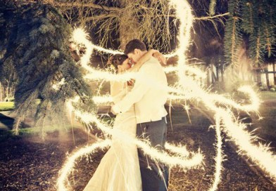 Using Sparklers at an Indoor Wedding