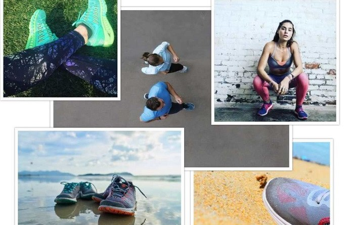 running-shoes-collage