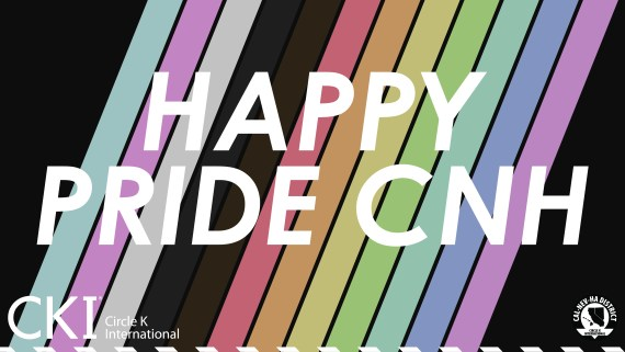 "Graphic with the words ""Happy Pride CNH"""