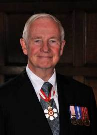 His Excellency the Right Honourable David Johnston, C.C., C.M.M., C.O.M., C.D., Governor General and Commander-in-Chief of Canada