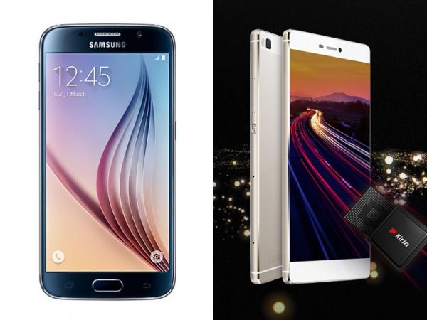 Spec showdown: Samsung Galaxy S6 vs. Huawei P8 - Computer News Middle East