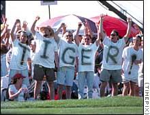 Tiger Woods Fans