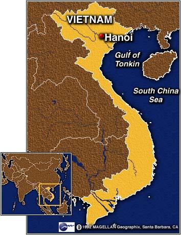 Vietnam with Hanoi