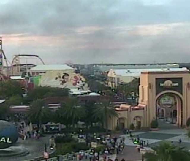 Fire Causes Evacuation Of Water Ride At Florida Theme Park