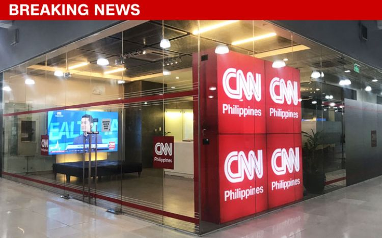 CNN Philippines temporarily goes off air after a building employee ...