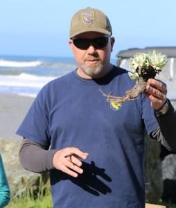Michael van Hattem explains proper replanting technique.