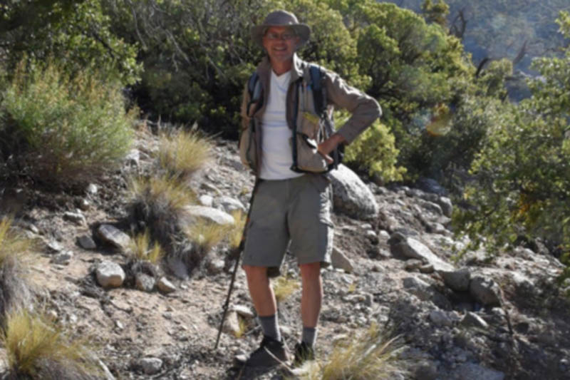 Botanist Dana York. Photo: Ann Dalkey