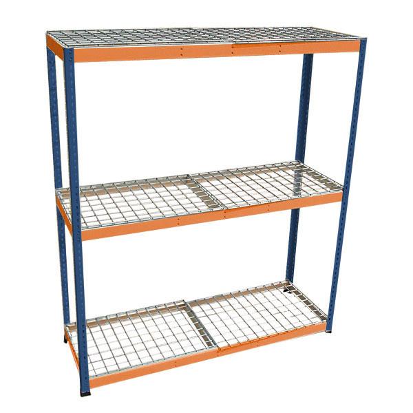 boltless shelving bulk rack pallet collapsible wire basket wire decking ningbo xianfu metal products co ltd