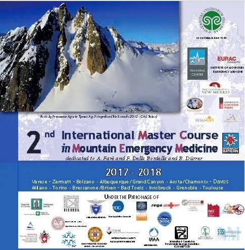 International Master Couirse in Mountain Emergency Medicine