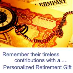 personalized retirement gifts gifts
