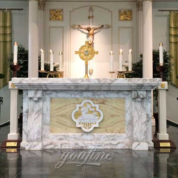Price of Modern luxury catholic church altar table design for sale CHS359You Fine Sculpture