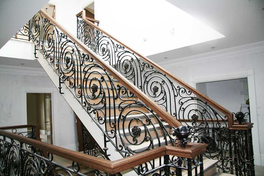 Decorative Wrought Iron Balustrades Gallery Landing | Stair Banisters For Sale