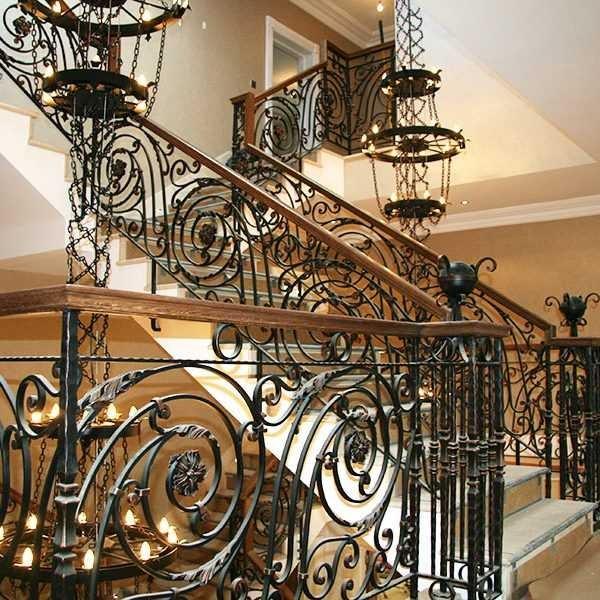 Black Wrought Iron Stair Railing You Fine Sculpture | Black Wrought Iron Stair Railing | Oak And Iron | Straight Line | Rectangular Iron | Walnut Iron | Steel Railing