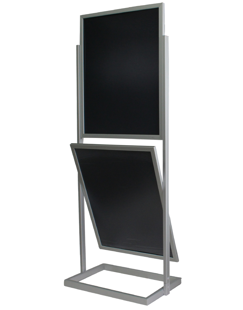 aluminum poster stand with