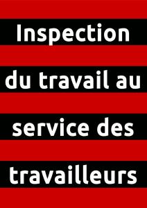 Affiche Téfal Inspection du travail au service des travailleurs