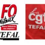 Appel CGT et FO de Téfal 16 octobre 2015