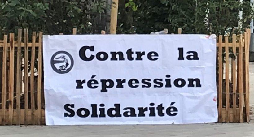 contre la répression solidarité