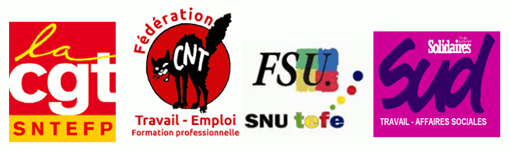 intersyndicale-nationale-du-ministere-du-travail-CNT-CGT-FSU-SUD