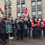 Action contre les suppressions de postes et pour des primes égalitaires : compte-rendu du 12 janvier