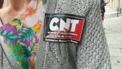 rassemblement affaire tefal cour de cassation syndicat autocollant CNT pfeiffer 2018-09-05