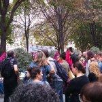 TEFAL rassemblement de soutien intersyndicale devant la cour de cassation 2018-09-05