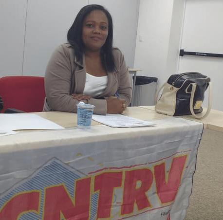 Arlete Silva Santos – Secretária pela igualdade racial da CNTRV/CUT