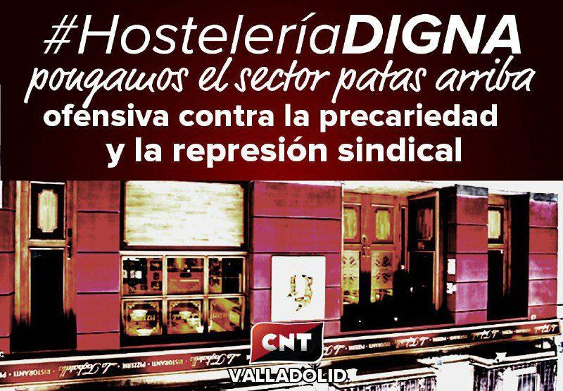 Continuamos la lucha por una hostelería digna