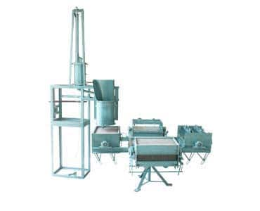 chalk making machine four moulds electrical driven slurry mixer