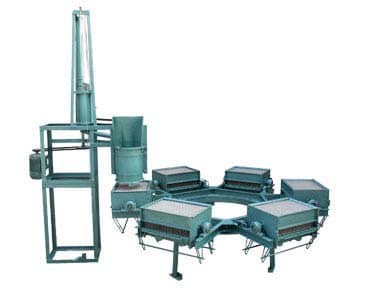 chalk makng machine six moulds electrical driven slurry mixer