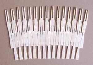 Bamboo Fruit Forks Making Machine