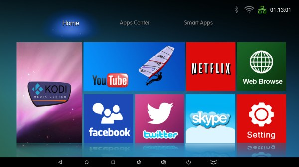Android Launcher Screens Tv - Year of Clean Water