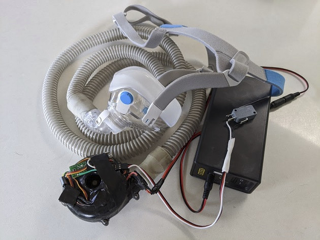 open-source Arduino based ventilator