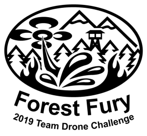 Forest Fury - 2019 Team Drone Challenge Logo