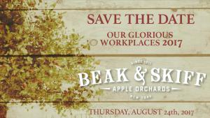 Beak and Skiff Save the Date