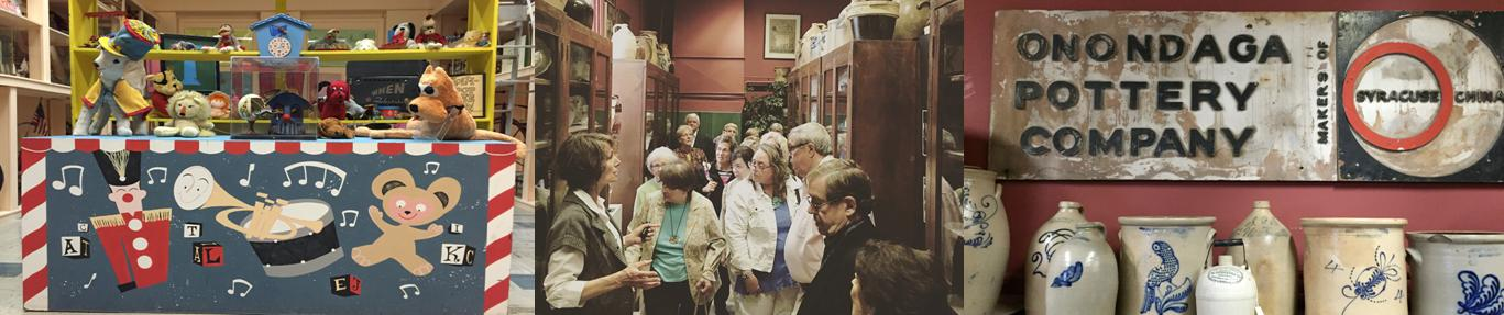 Backroom Tour at Onondaga Historical Museum
