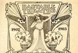Bastable Theater program