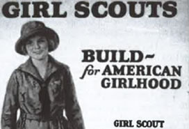Girl Scouts program cover