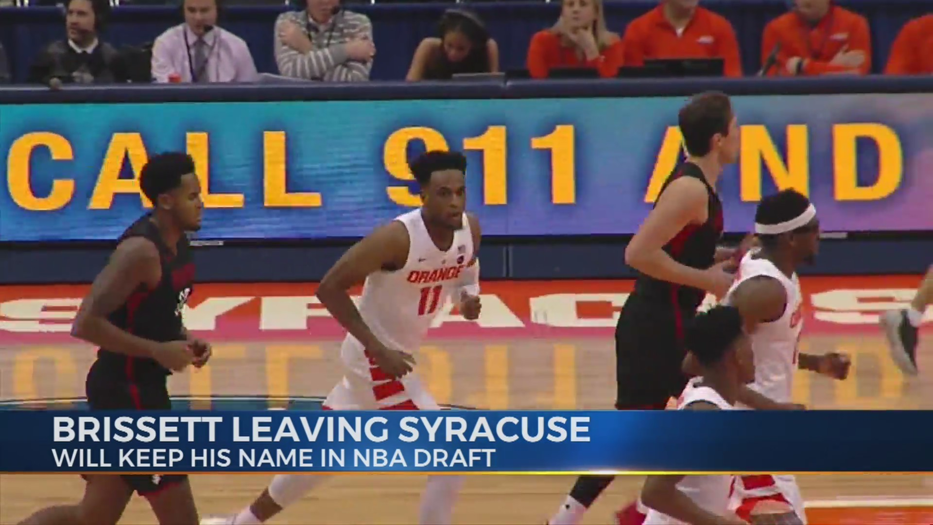 Brissett to remain in NBA draft, leave Syracuse