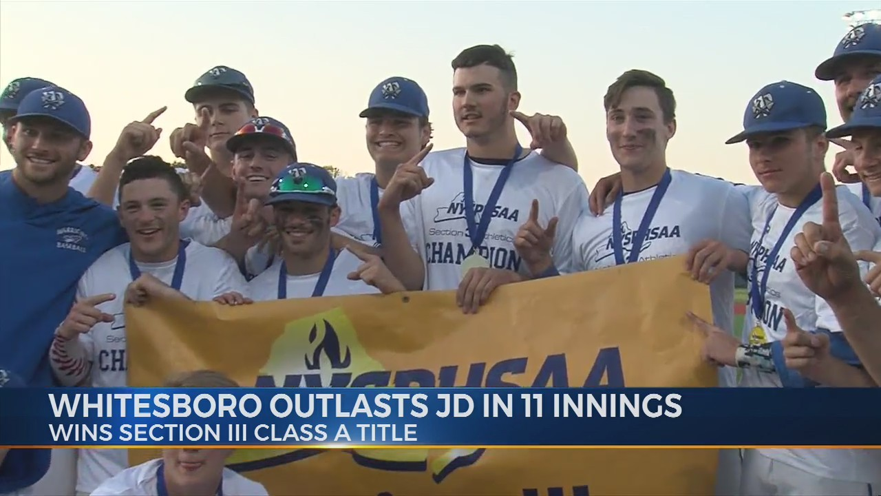 Whitesboro baseball wins Section III Class A title