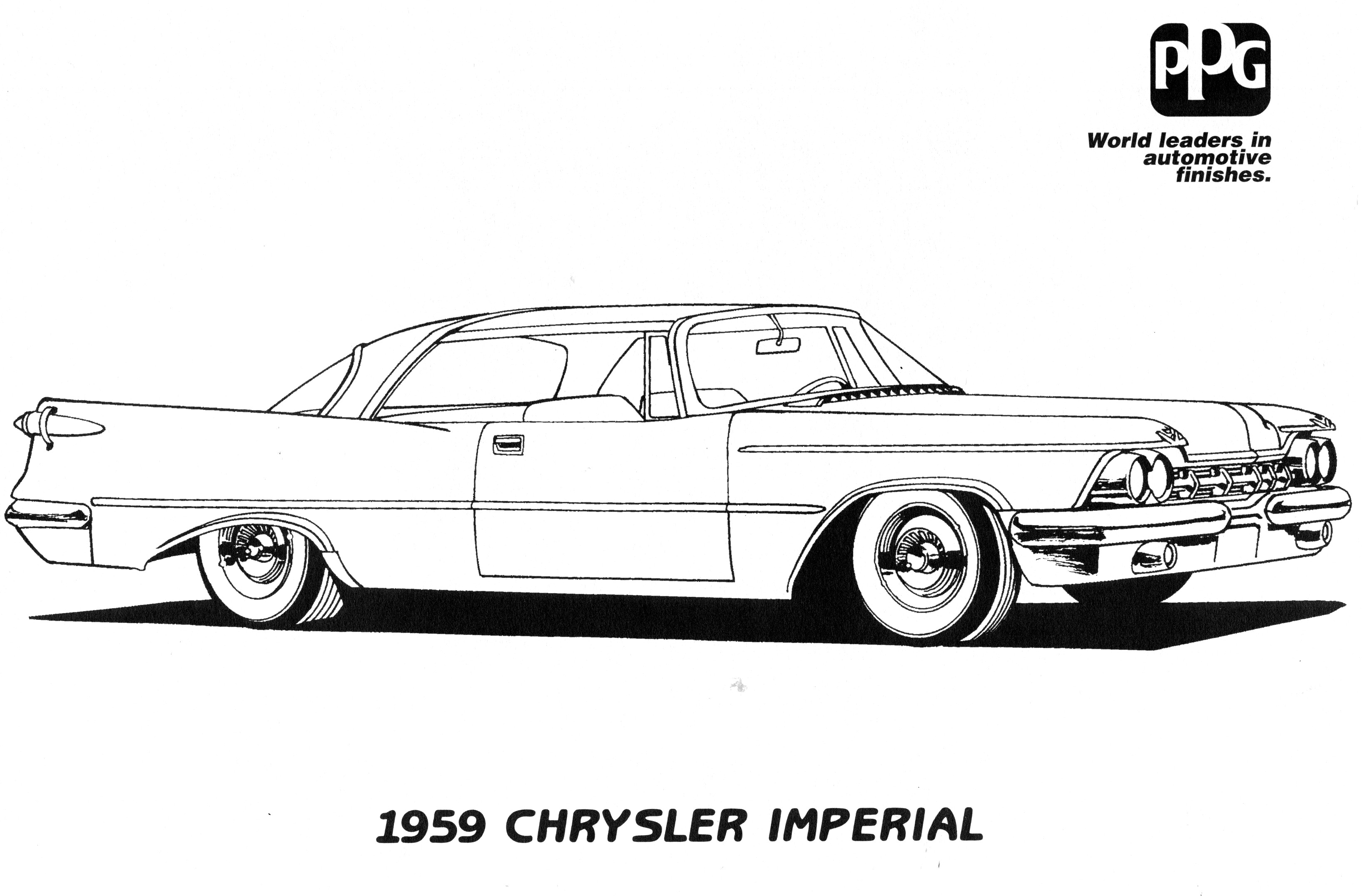 Coloring Pages Dodge Charger