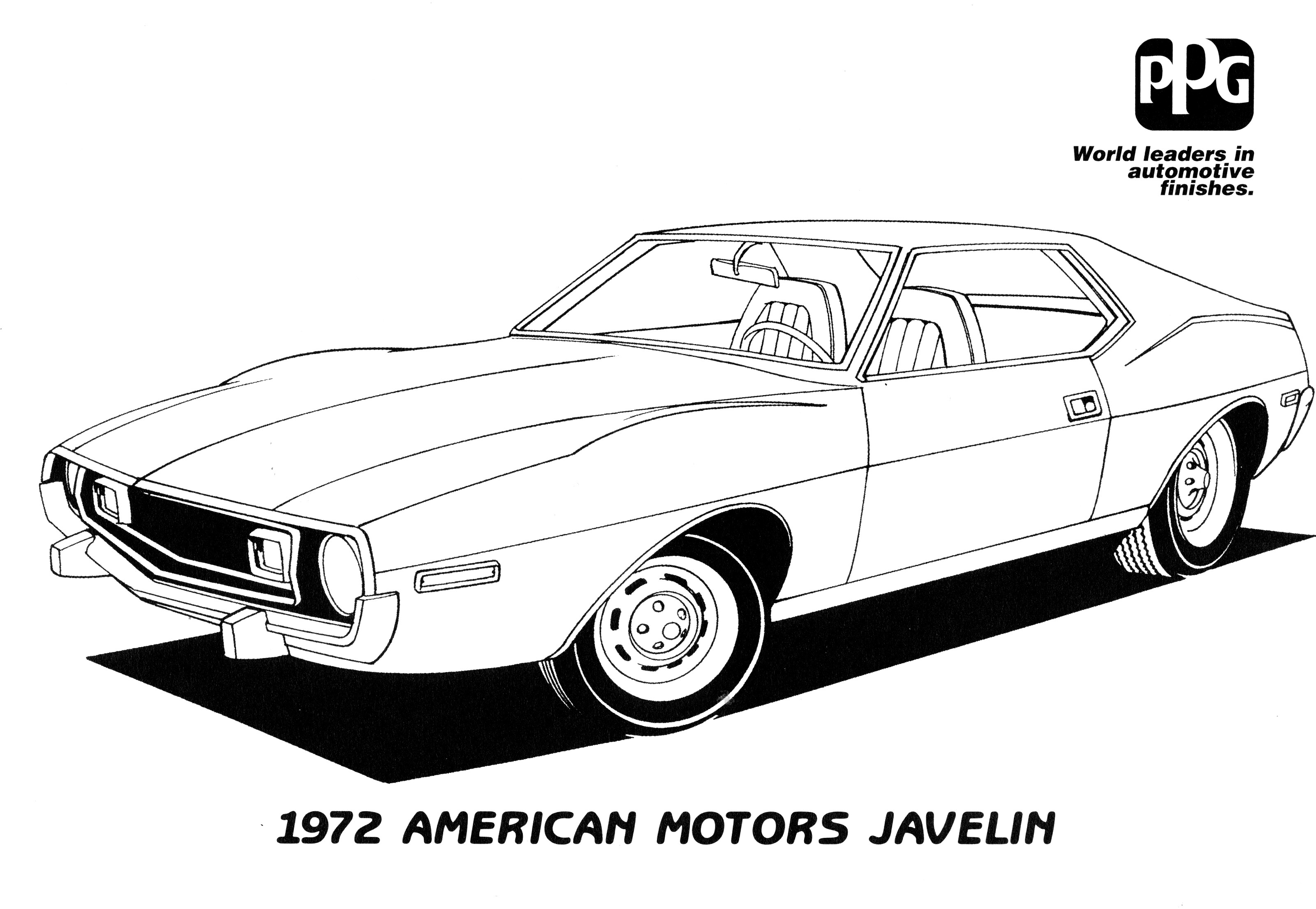 Coloring pages 1969 dodge charger