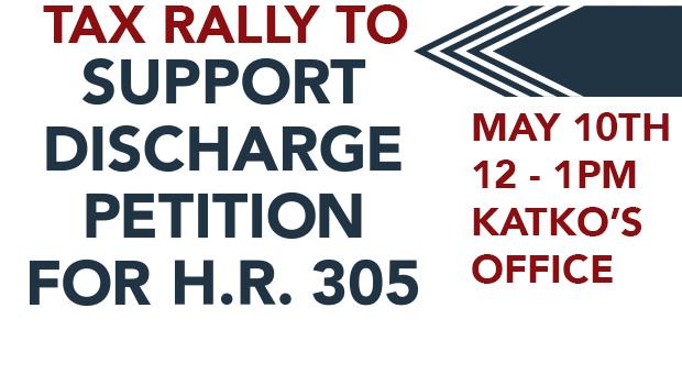 Tax Rally May 10th