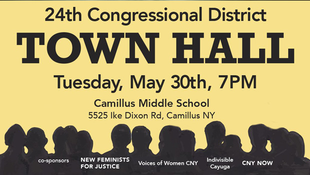 Town Hall May 30th