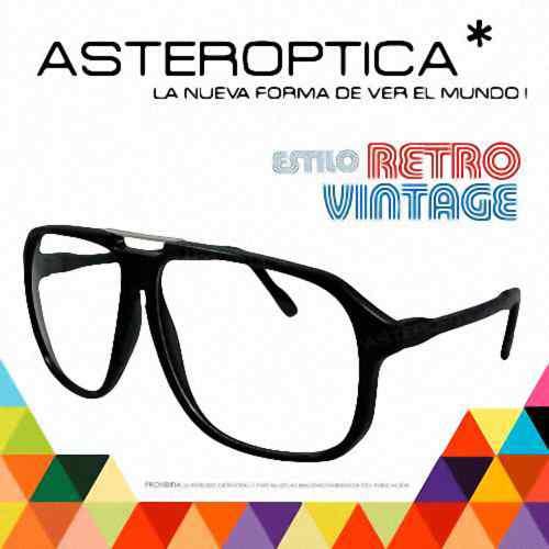 1e2b54eb70 Anteojos Armazones Lentes Estilo Clasico Retro Vintage Xxl ...