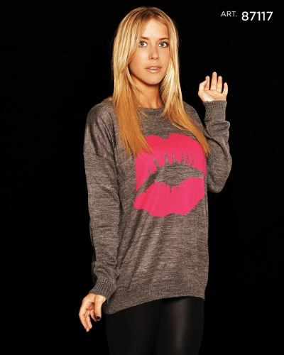 Sweater Mujer Sacos Capas Estampados Animal Print Por Mayor ... 37f5bee55f7c