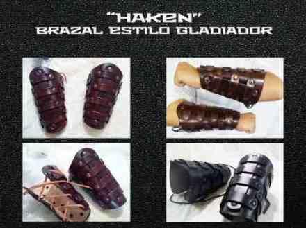 Image brazal-brazalete-de-cuero-estilo-gladiador-modelo-haken-883201-MLA20290782754_042015-O.jpg