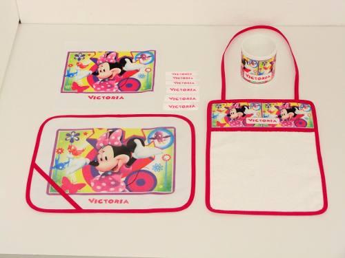 Set para jardin de infantes personalizado con taza for Amapola jardin de infantes