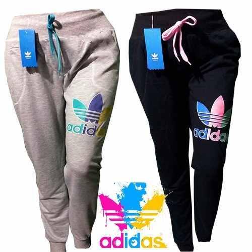8318c32e62f7b Jogging Babucha Pantalon Adidas Mujer Gimnasia Deportivos ...